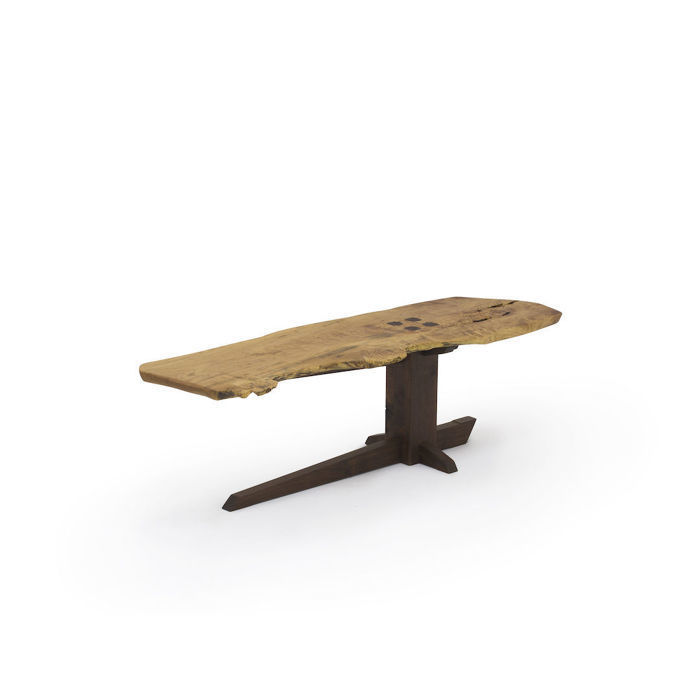 Live Edge Cantilever Sitting Bench Coffee Table Inspired By George Nakashima Finewoodworking