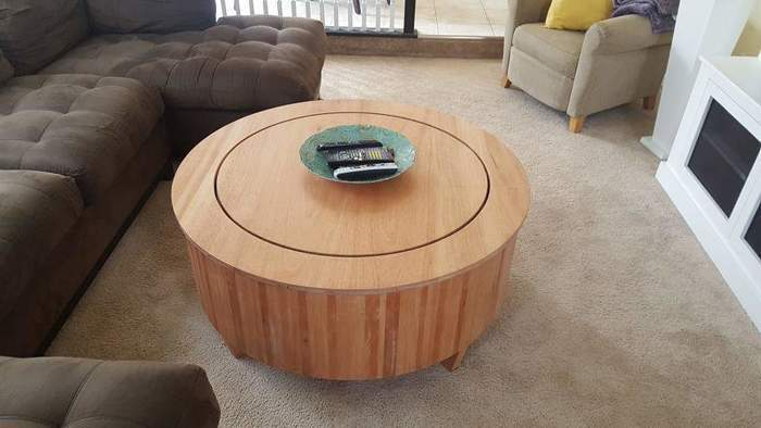 Fabulous Train Coffee Table Finewoodworking Creativecarmelina Interior Chair Design Creativecarmelinacom