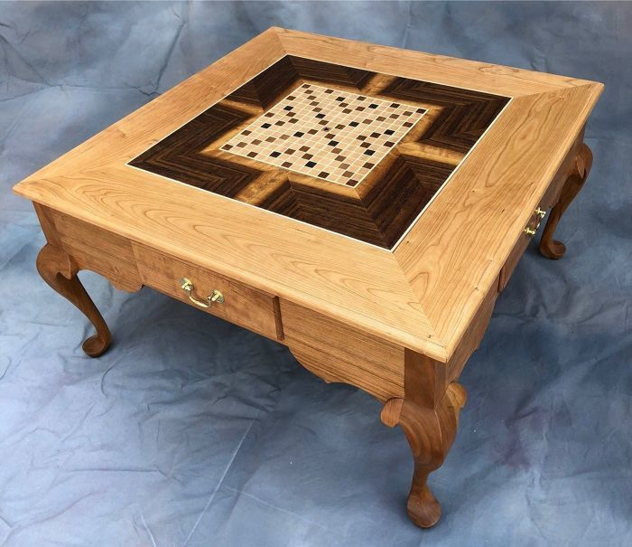 Stupendous Coffe Table With Reversible Insert Finewoodworking Uwap Interior Chair Design Uwaporg