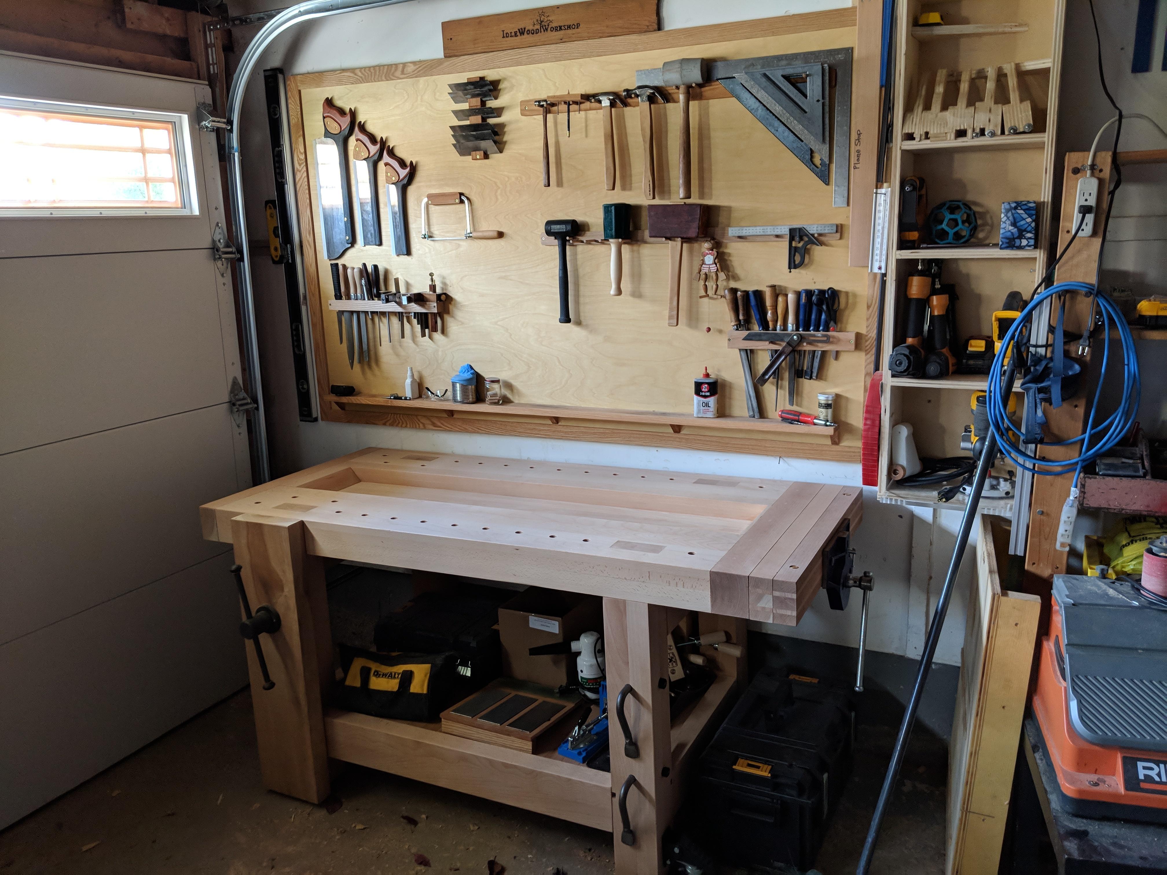 video tour: garage shop makeover - finewoodworking