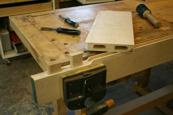 loose tenon or domino joint with a router