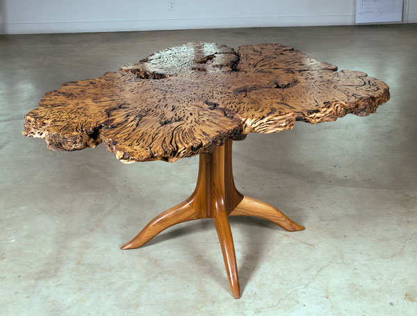 Maloof table featured in Grace and Grain exhibit.
