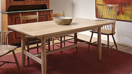 simple scandinavian kitchen table plans; dining table woodworking plans
