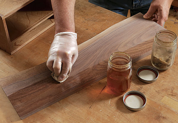 how to use a shellac finish Mike Pekovich