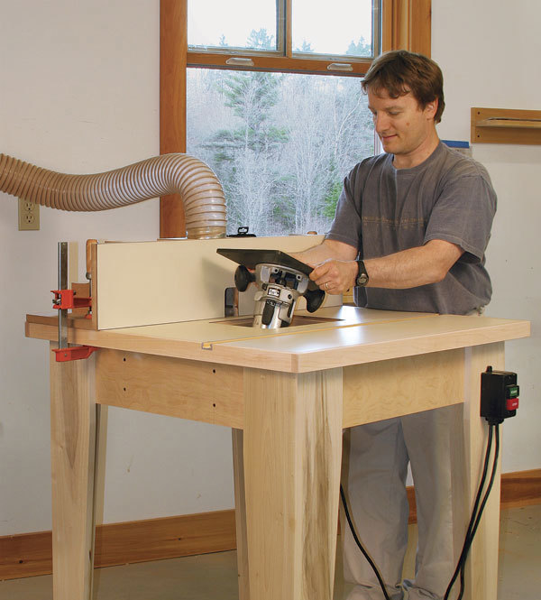 Rock-Solid Router Table