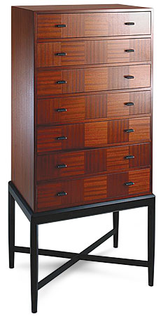 Don Green Chest of Drawers
