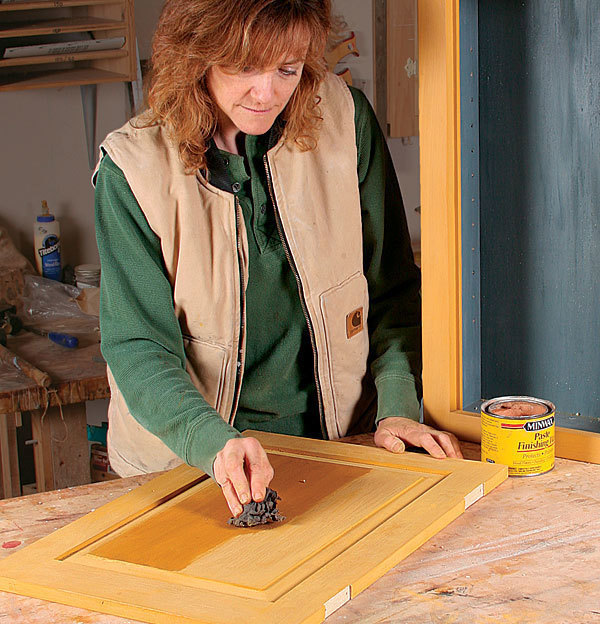 Nancy Hiller how to use milk paint