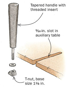 Easy Drill-Press Fence
