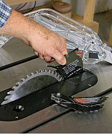 delta unisaw front adjustable riving knife