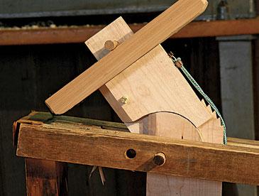Peter Galbert dumbhead work-holding device