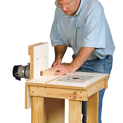Versatile Router Table
