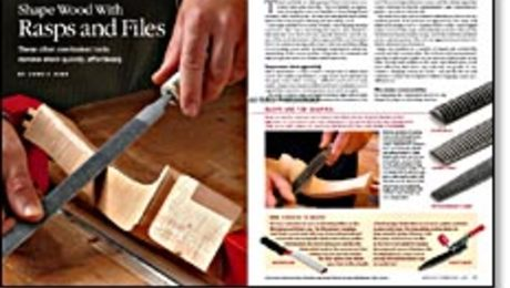 Workshop Tip: Use a File to Pare Hand-Cut Dovetails