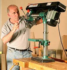 Grizzly G7945 Radial-Arm Drill Press