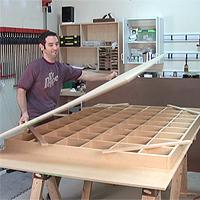 torsion box assembly table skins