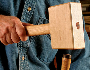 Mallet woodworking gift