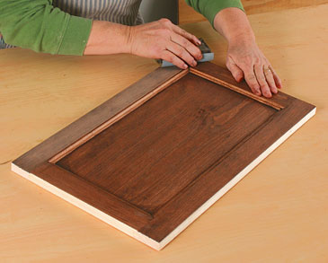 Scuff the Stain with Sandpaper