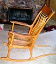 Ronald Dean's chair
