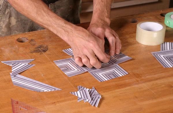Striped Veneer Patterns