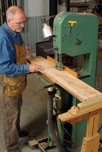 Michael Fortune Bandsaw Tips