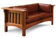 Praire settle upholstery