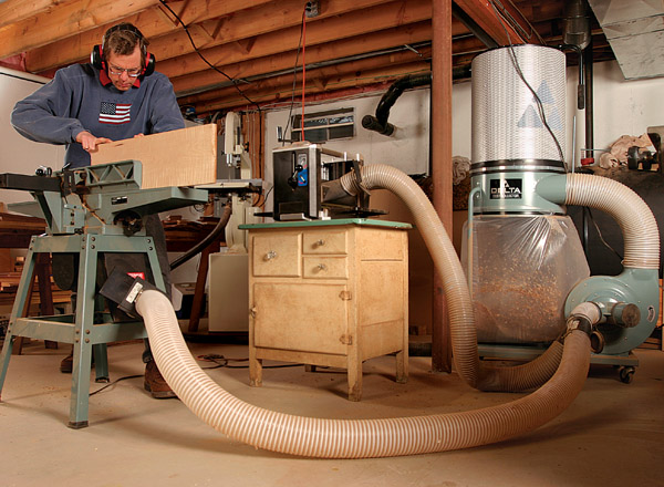 How Your Dust Collector Works Finewoodworking