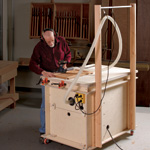 Stow and Go Router Table