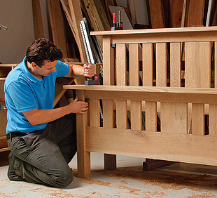Free Furniture Plans Bed Woodworker Magazine