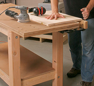 build woodworking workbench